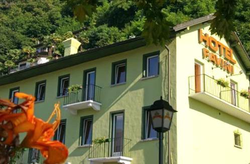 Отель Hotel Favini 0 звёзд Швейцария