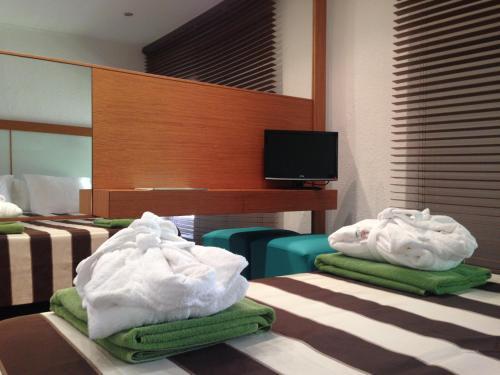 Habitación Doble Estándar con acceso al Spa  Hotel Spa La Central - Adults Only 4