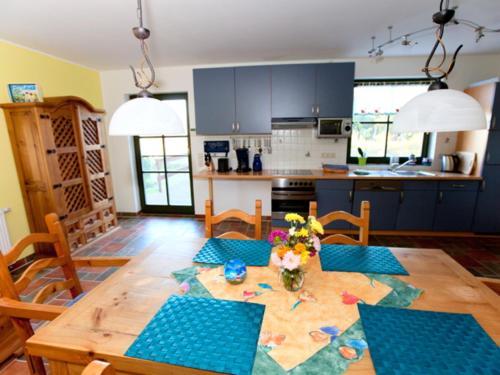 Ferienhaus Darßblick mit Terrasse und Sauna