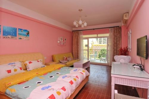 Standard Double Room Sanya Xing Yun Hai Holiday Apartment
