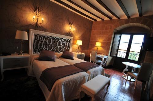 Habitación Doble - 1 o 2 camas - Uso individual Hospedería Palacio de Casafuerte 4