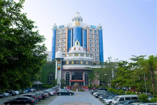 Wa King Town Hotel front view