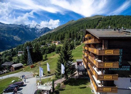 Отель Aparthotel Ambassador 4 звезды Швейцария