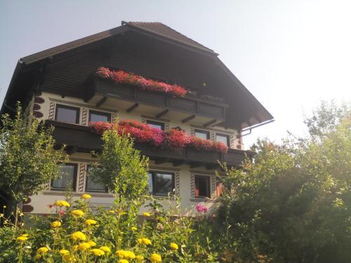 Haus Pension Dorfer front view