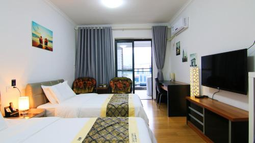 Отель Guangzhou Tujia Sweetome Vacation Apartment - Ming Yue Shan Xi 0 звёзд Китай
