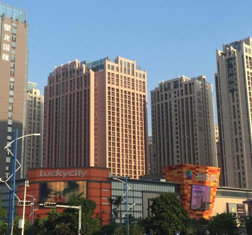 U Apartment Hotel - Foshan Lecong Lucky City Plaza Branch front view