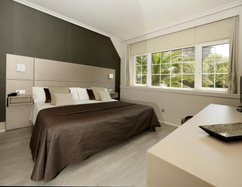Double or Twin Room with Garden View - single occupancy Hotel Igeretxe 2