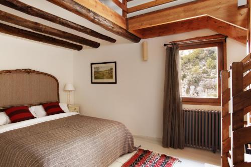 Habitación Doble Fuentespalda Hotel Mas de la Serra 1