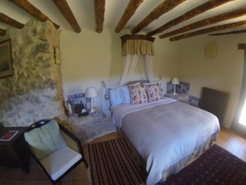 Habitación Doble Superior Cretas Hotel Mas de la Serra 1