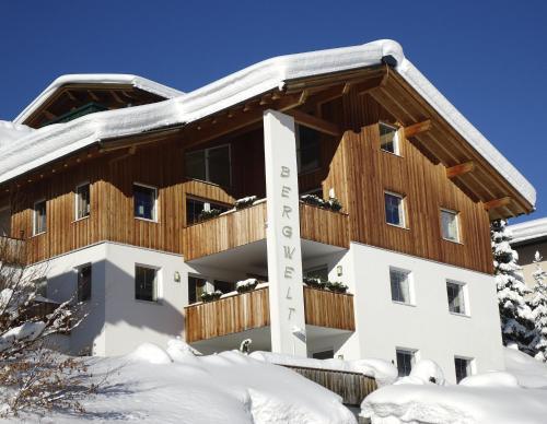 Haus Bergwelt - Appartements - Apartment mit 1 Schlafzimmer und Balkon