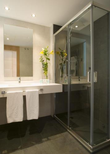 Double or Twin Room with Garden View and Spa Access - single occupancy Hotel Spa Niwa 3