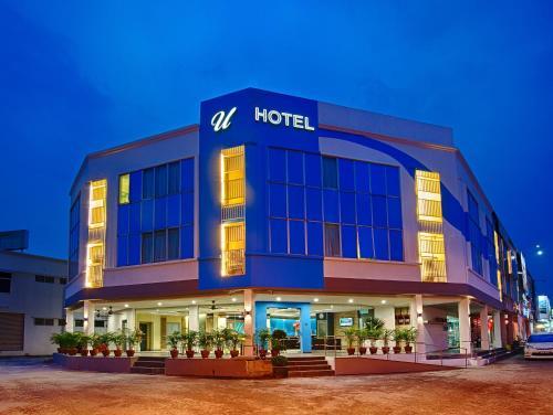 U Design Hotel Bukit Mertajam front view