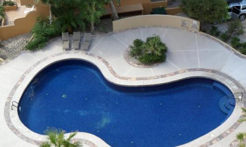 Piscina One-Bedroom Apartment at Puerto Penasco BD 703-V