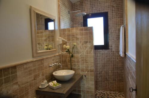 Habitación Doble Superior con terraza Hotel Galena Mas Comangau 24