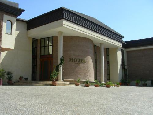 Hotel D.G. Garden front view
