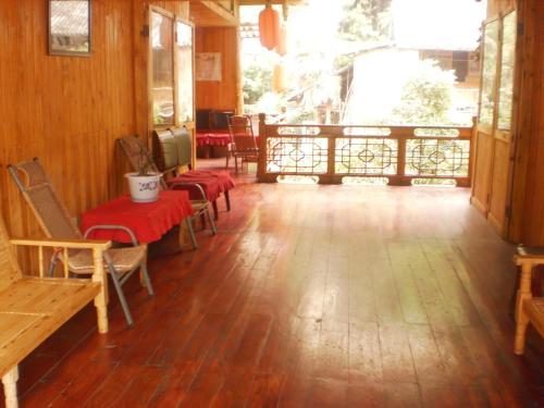 Ya'an Shangli Ancient Town Haojinglou Homestay front view