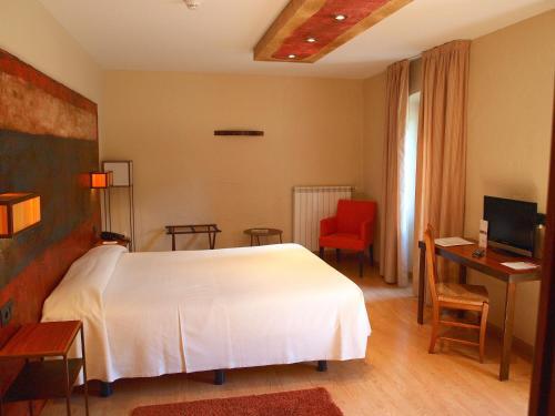 Habitación Doble - 1 o 2 camas Hotel Santa Cristina Petit Spa 4