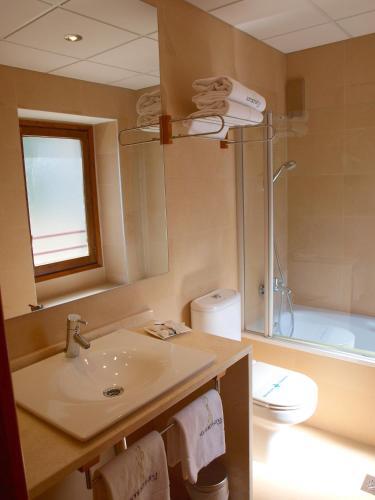 Habitación Doble con cama supletoria - 1 o 2 camas Hotel Santa Cristina Petit Spa 3