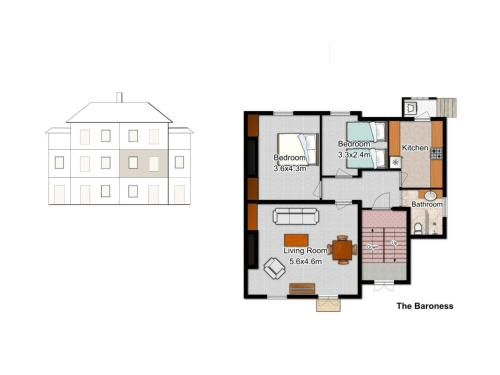 Two-Bedroom Apartment - The Baroness