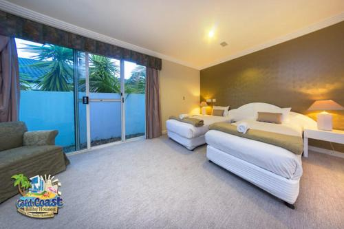 Four Bedroom House - Guestroom Holiday Home Sunshine Waters On Sanctuary Cove