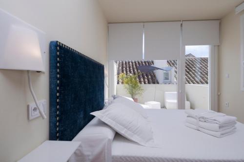 Doppelzimmer mit Terrasse Hotel Viento10 2