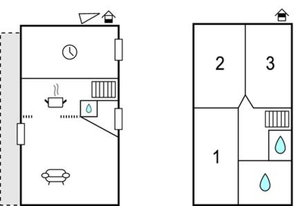 Floor plans Holiday home Angey IJ-1111