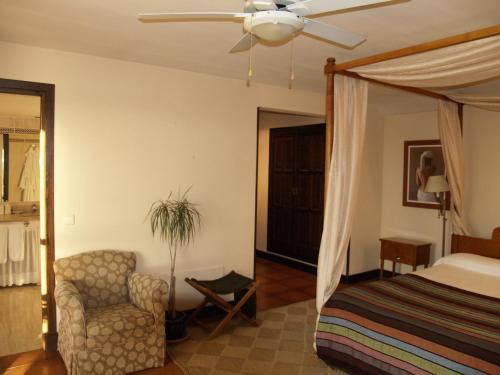 Doppel- oder Zweibettzimmer Hotel Rural & Spa Las Nubes 12