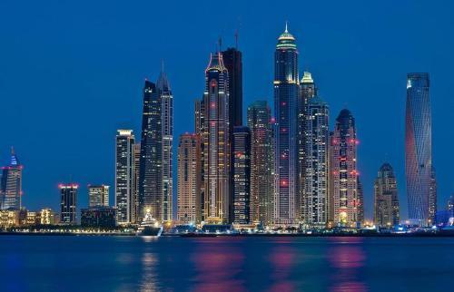 Wider View - Torch Tower - Dubai Marina