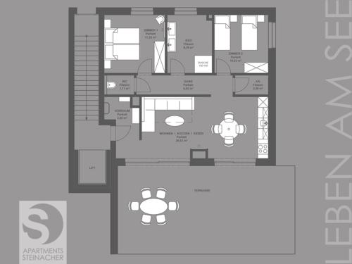 Apartments Steinacher - Penthouse-Apartment