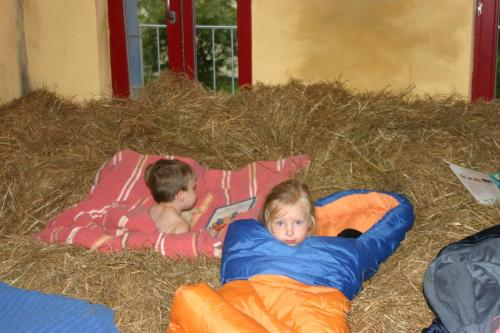 Sleeping in the Hayloft