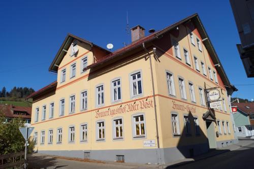 Отель Brauereigasthof Adler Post 0 звёзд Германия