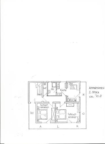 Two-Bedroom Apartment (4 adults) with Balcony