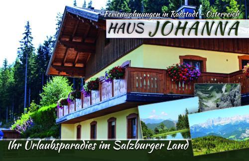 Haus Johanna - Apartment mit Blick auf die Berge