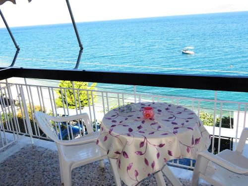 Cameră dublă cu balcon şi vedere la mare (Double Room with Balcony and Sea View)