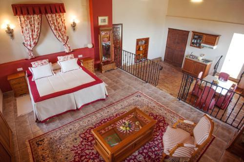 Suite mit Bergblick - Einzelnutzung Hotel Rural Masía la Mota 1