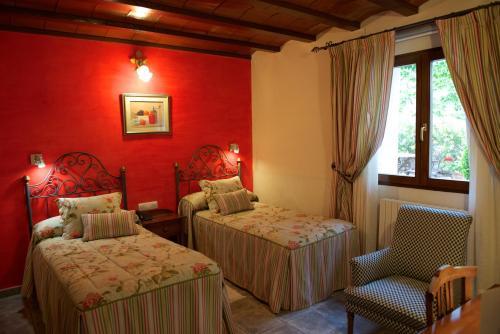 Standard Zweibettzimmer - Einzelnutzung Hotel Rural Masía la Mota 2