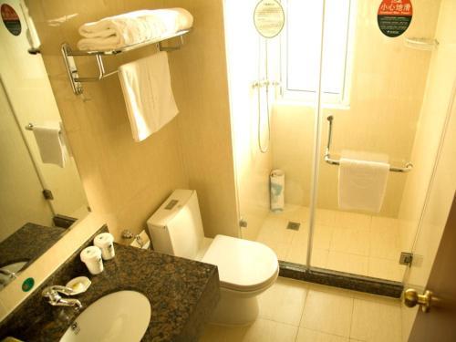 Greentree Inn Jiangsu Taizhou Taidong Railway Station Business Hotel