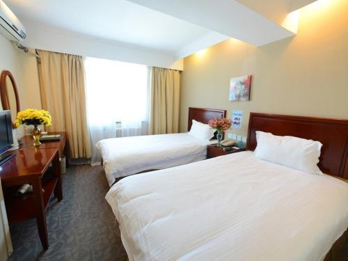 Greentree Inn Jiangsu Taizhou Jingjiang Jiangping Road Shanghai City Business Hotel