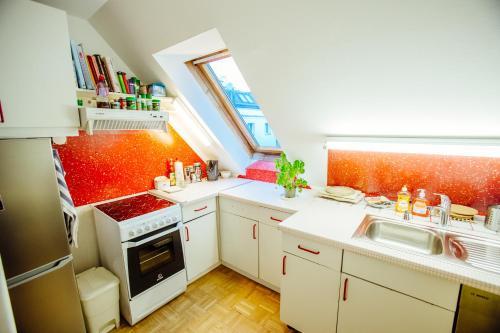 Gem�tliche Dachgeschosswohnung