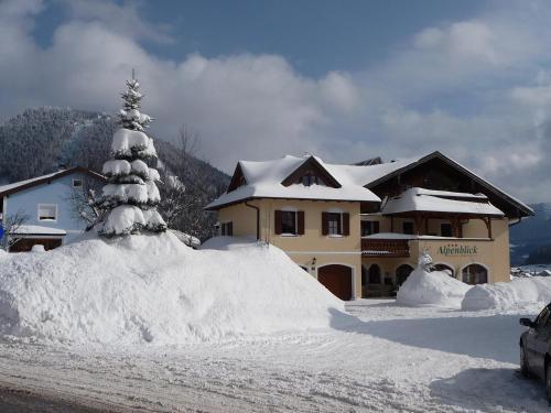 Отель Pension Alpenblick 3 звезды Австрия