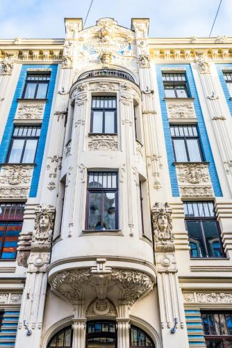 Hotel Art Nouveau Building Apartment