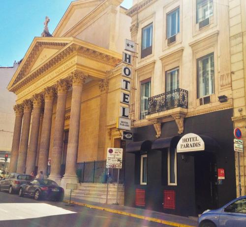 Hotel Paradis - Marseille Centre Pr U00e9fecture