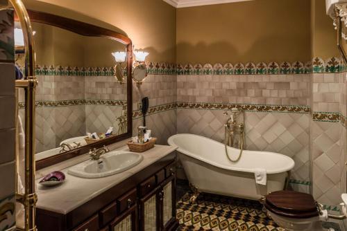 Doppelzimmer mit Badewanne - Einzelnutzung Hotel Villa Retiro 3