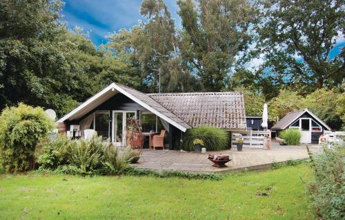 Holiday Home Tranek�r with a Fireplace 09