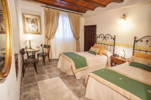 Standard Zweibettzimmer - Einzelnutzung Hotel Rural Masía la Mota 1