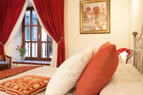 Doppelzimmer - Einzelnutzung Hotel Rural Masía la Mota 1