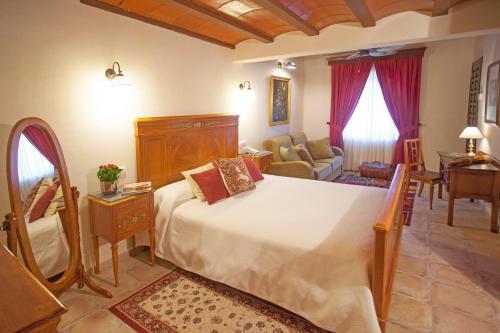 Superior Doppelzimmer - Einzelnutzung Hotel Rural Masía la Mota 3
