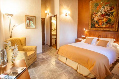Superior Doppelzimmer - Einzelnutzung Hotel Rural Masía la Mota 1