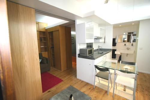 Loft Beaubourg 2 bedrooms
