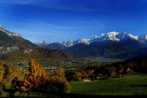 Le Chalet Vue Mont-Blanc